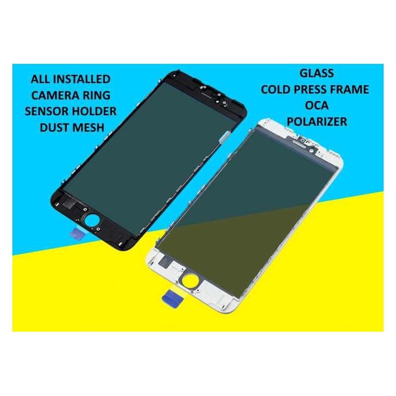 cold press frame glass iphone 6 plus and oca. Black Bedroom Furniture Sets. Home Design Ideas